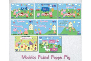 PEPPA GEORGE Picnic Painel Impresso P