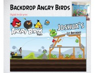 Angry Birds Painel IMPRESSO LONA P