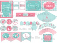Paris Festa Shabby Chic Kit Digital