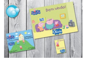 Peppa Pig Casa Kit Festa Digital